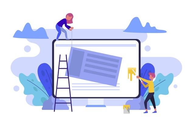 Web design enoikiasi ilektronikou katastimatos