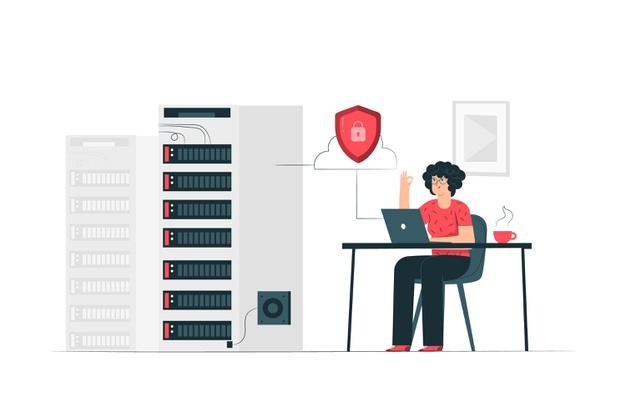 Filoksenia vps illustration web hosting