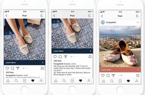 Instagram carousel ad instagram marketing