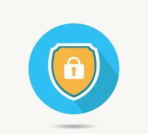 Safety lock logo asfaleia texniki ipostiriksi